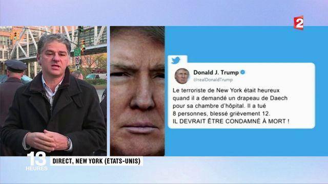 Attentat à New York : Donald Trump crée la polémique