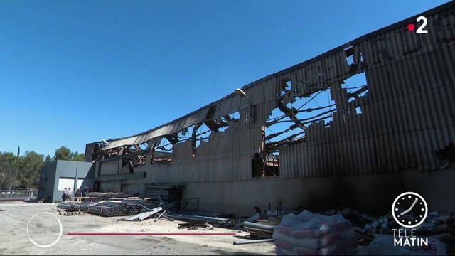 Bouches-du-Rhône: 10 entreprises ont brûlé à Port-de-Bouc