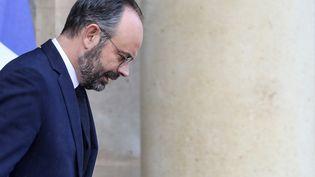 Le Premier ministre Edouard Philippe après le conseil des ministres, mercredi 26 février 2020 à Paris. (LUDOVIC MARIN / AFP)