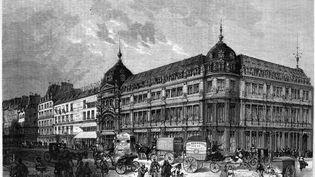 Le Bon Marché au XIXe siècle (STEFANO BIANCHETTI)