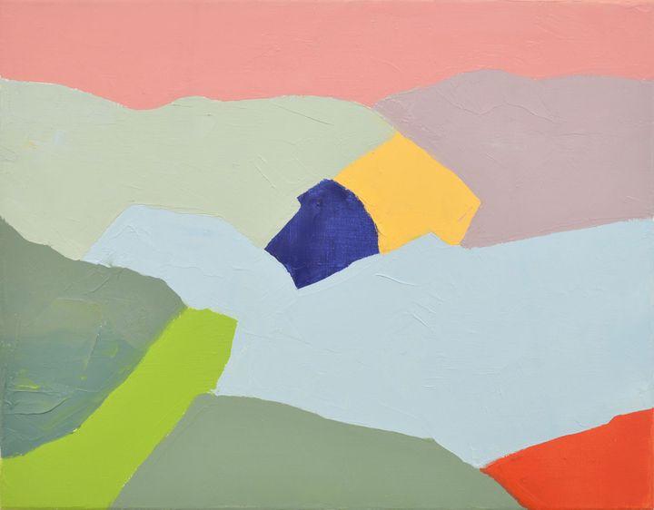 """Etel Adnan, """"Sans titre"""", 2012, Private collection, Andrée Sfeir-Semler  (Etel Adnan)"""