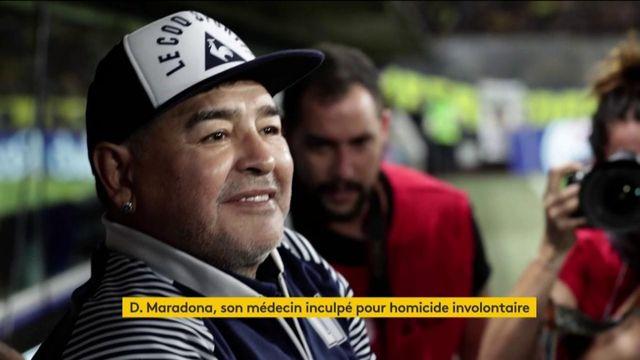 Mort de Maradona : son médecin soupçonné