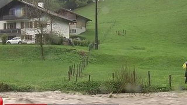 Quatre départements en alerte inondations