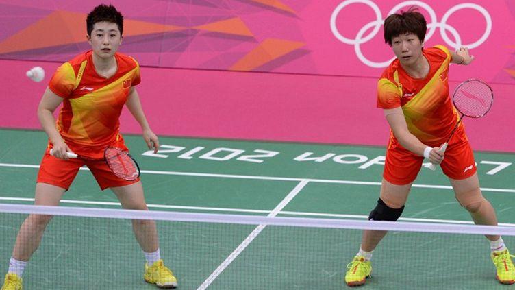 Yu Yang et Wang Xiaoli dans le viseur