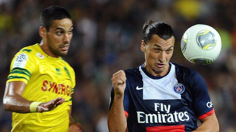 Zlatan Ibrahimovic pourrait retrouver Gabriel Cichero.  (JEAN-SEBASTIEN EVRARD / AFP)