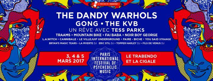 La programmation du Paris Psych Fest 2017 (DR)