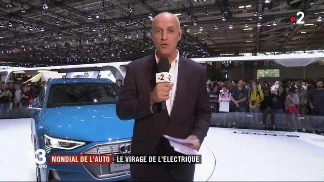 Mondial de l'auto : le virage de l'électrique