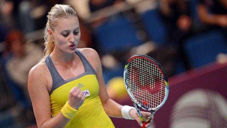 Kristina Mladenovic, le grand espoir du tennis français (MIGUEL MEDINA / AFP)