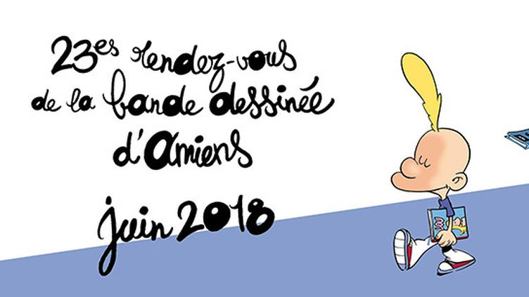 L'affiche des 23èmes rendez-vous de la Bande Dessinée d'Amiens dessinée par Zep  (Zep)