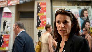 La ministre de la culture Aurélié Filippetti à Avignon, 17 juillet 2014  (BORIS HORVAT/AFP)