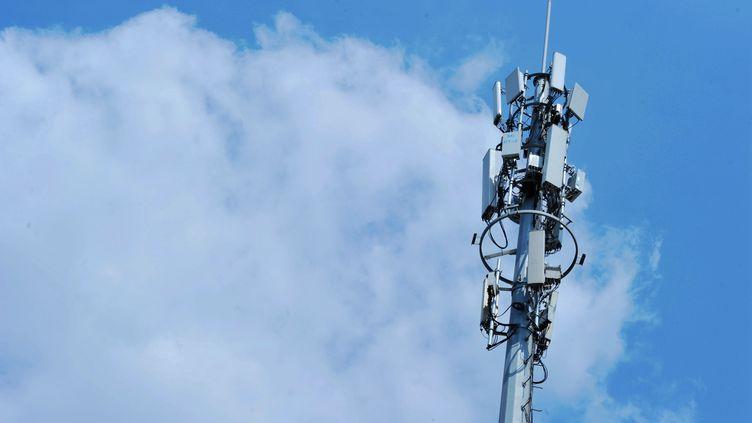 Une antenne 5G en Chine. (Illustration).    (YU FANGPING / MAXPPP)