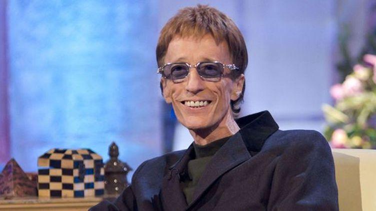 Robin Gibb, très amaigri, le 24 octobre 2011 à la TV britannique  (Steve Meddle / Rex Feat/REX/SIPA)