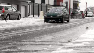 Circulation difficile dans le Haut-Rhin en janvier 2013 (JF FREY / MAXPPP)