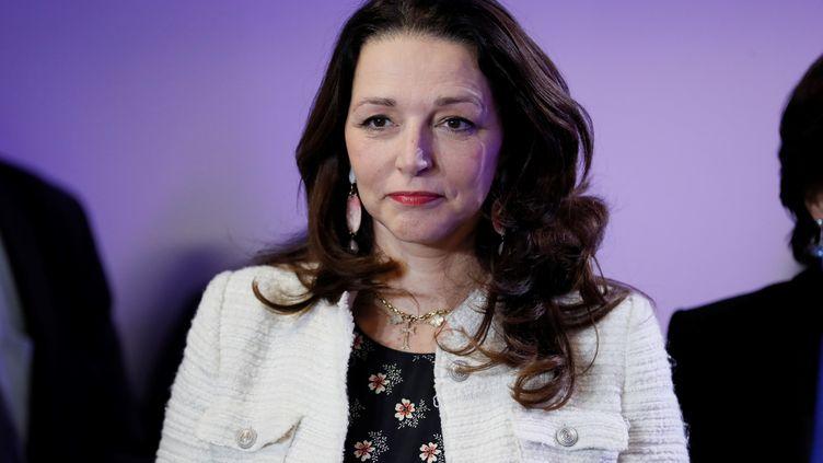 Valérie Boyer,députée Les Républicains des Bouches-du-Rhône, le 10 janvier 2017, à Paris. (THOMAS SAMSON / AFP)