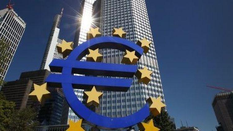 Le siège de la Banque centrale européenne à Francfort. (AFP/DANIEL ROLAND)