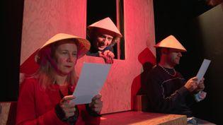 comédies Chagrin pour soi présentée dans le cadre du Festival Comédies, Coquillages et Crustacés à Royan (France Télévisions / L. Pelletier)