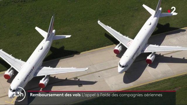 Remboursements : les compagnies aériennes tirent l'alarme