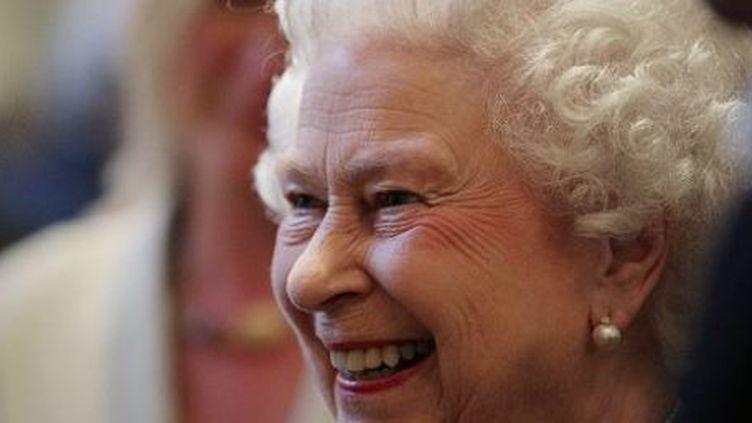La Reine Elizabeth II à la Société royale de géographie, à Londres, le 29 mai 2013. (AFP/YUI MOK)