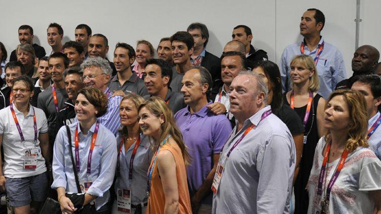 Les consultants et les journalistes pour les Jeux Olympiques de Londres