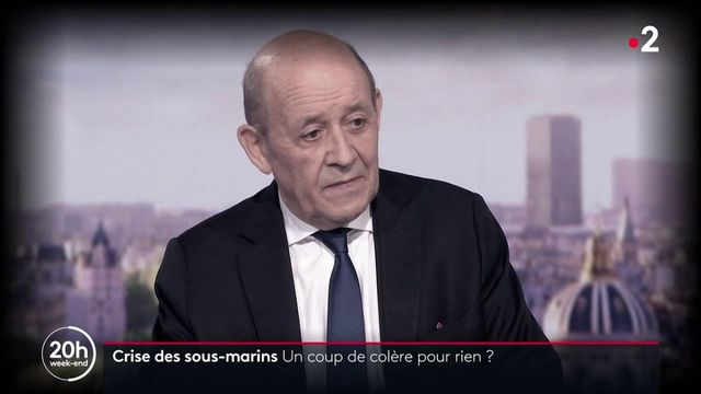 Crise des sous-marins : quel impact ont eu les déclarations de Jean-Yves Le Drian ?