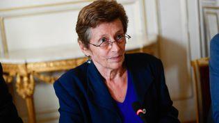 Nicole Klein, alors préfète de Loire-Atlantique, lors d'une discussion sur l'avenir de l'aéroport de Notre-Dame-des-Landes, le 12 octobre 2018. (MAXPPP)