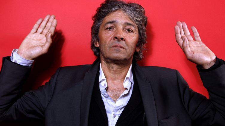 L'architecte françaisRudy Ricciotti en 2013 à Paris. (ERIC FOUGERE / CORBIS ENTERTAINMENT)