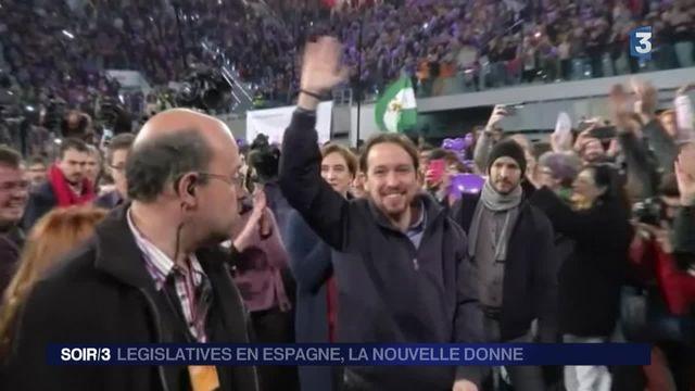 Législatives en Espagne : la poussée de Podemos et Ciudadanos