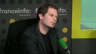 Le responsable du bureau Europe de l'Est-Asie centrale de Reporters sans Frontières,Johann Bihr. (FRANCEINFO)