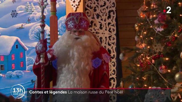 Noël : à la découverte de la maison russe du père Noël