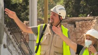 Des Français s'engagent pour reconstruire Beyrouth. (France 2)