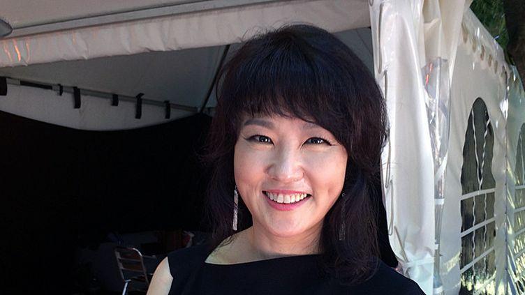 Youn Sun Nah à Coutances le 26 mai 2017  (Annie Yanbékian / Culturebox)
