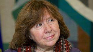 Svetlana Alexievitch à Minsk le 14 novembre 2014  (Maxim Malinovsky / AFP)