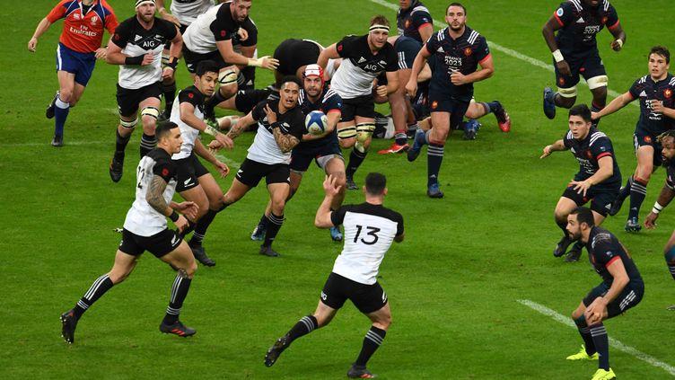 La Nouvelle-Zélande déroule face au XV de France