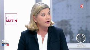 Fabienne Simon, directrice générale adjointe d'Ipsos/Sopra Steria. (FRANCE 2)