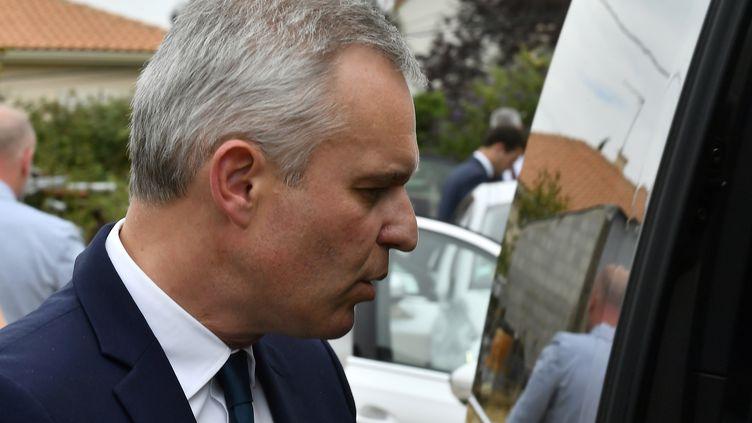 Le ministre de la Transition écologique et solidaire, François de Rugy, le 11 juillet 2019. (GEORGES GOBET / AFP)