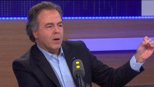 Luc Chatel sur franceinfo. (FRANCEINFO)