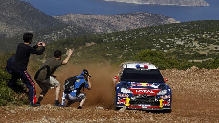 Sébastien Loeb à l'attaque avec la DS3