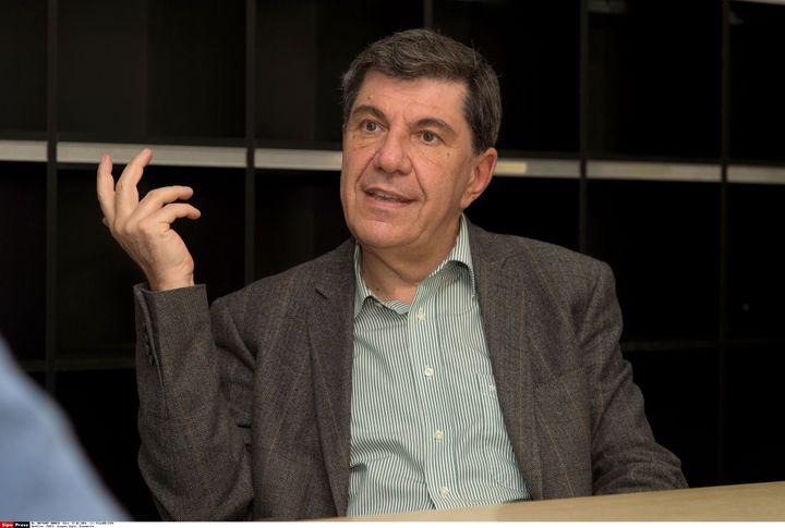 Jacques Sapir, à Paris, le 23 février 2016. (VILLARD / SIPA)