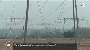 Des pylones électriques. (France 2)