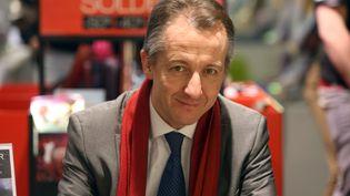 Le journaliste Christophe Barbier à Belfort (Territoire de Belfort), le 6 février 2016. (MAXPPP)