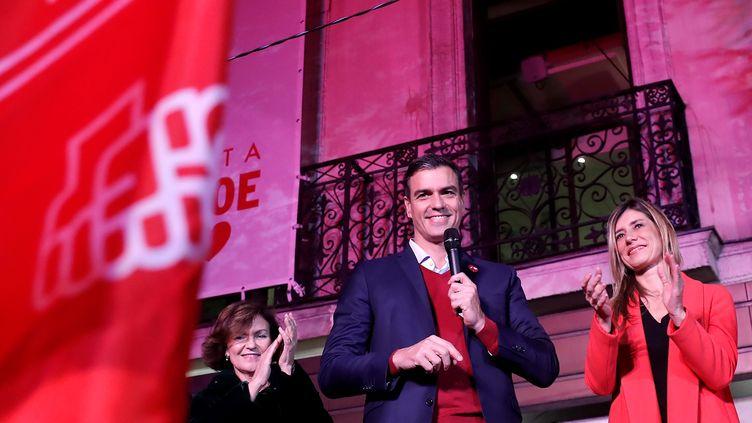 Le Premier ministre espagnol, Pedro Sanchez, le 11 novembre 2019 à Madrid (Espagne). (BURAK AKBULUT / ANADOLU AGENCY / AFP)