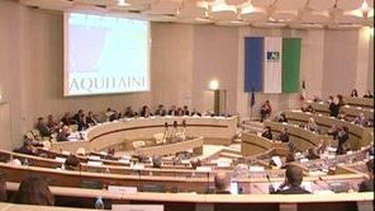 L'assemblée du conseil régional d'Aquitaine. (France 3 Aquitaine)