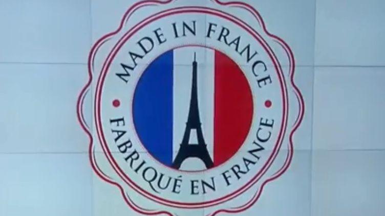 On peut parler de nouveau souffle pour l'ensemble de la filière du made in France. Le secteur est porteur, il innove. Sophie Lanson en parle lundi 12 novembre, sur le plateau de France 2. (FRANCE 2)