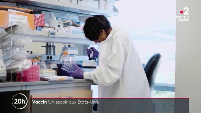 Coronavirus : un laboratoire avance vers un vaccin