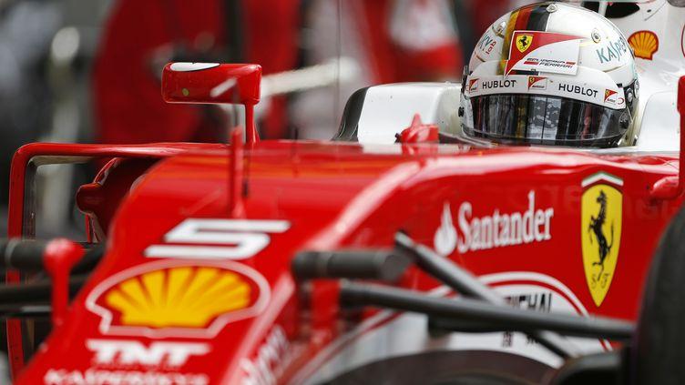 Le quadruple champion du monde, Sebastian Vettel (FRANCOIS FLAMAND / DPPI MEDIA)