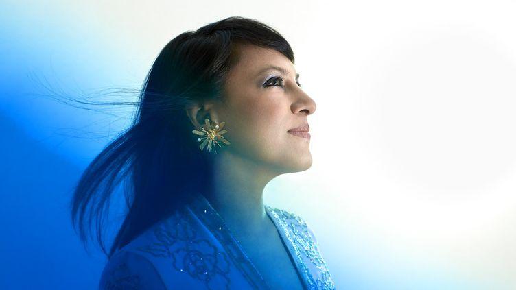 La pianiste Shani Diluka. (SANDRINE EXPILLY)