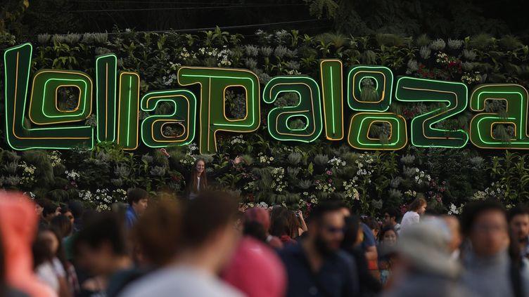 Le festival Lollapalooza se décline dans plusieurs pays chaque année, ici à Santiago du Chili en avril dernier. (ELVIS GONZALEZ / EFE)