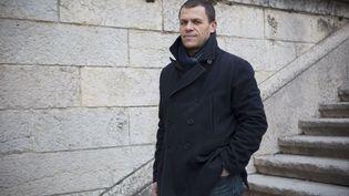 Bertrand Virieux, secrétaire de l'association La Parole libérée, qui défend les victimes de pédophilie dans l'Eglise catholique, à Lyon, le 8 mars 2016. (MAXPPP)