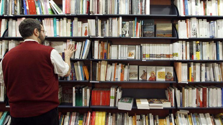 """Des librairies """"Chapitre"""" menacées  (FRANCOIS GUILLOT / AFP )"""