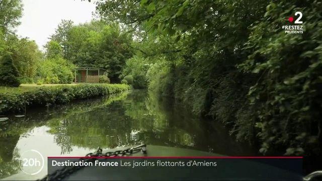 Destination France  : à la découverte des hortillonnages d'Amiens dans la Somme